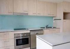 Kitchen splashback installed