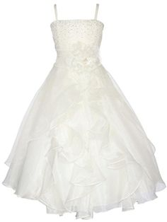 CustomDress Girls Graduation Pageant and Flower Long Dress For Wedding (6, Ivory) CustomDress http://www.amazon.com/dp/B00XVM946A/ref=cm_sw_r_pi_dp_RjN1wb1PFCBBX