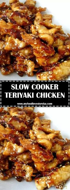 Serve this Slow Cooker Teriyaki Chicken over rice, you don't want any of that . Serve this Slow Cooker Teriyaki Chicken over rice, you don't want any of that delicious, sticky sauce going to waste. Slow Cooker Huhn, Crock Pot Slow Cooker, Slow Cooker Chicken, Slow Cooker Dinners, Meals, Crockpot Dishes, Crockpot Recipes, Slow Cooker Rice Recipes, Slow Cooking