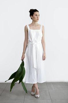 Linen Jumpsuit / linen overall / loose fit linen / casual