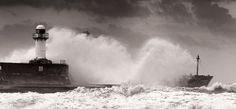The Lighthouse South Gare by Mike. Mayo, via 500px