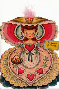 Vintage Hallmark 1950s.  I had an albumn of these Hallmark cards.  Loved them.