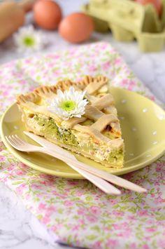 Crostata salata broccoli ricotta e prosciutto- broccoli pie