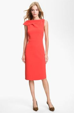 love the color and neckline and the back is to die for!