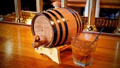 Barrels made from 100% American White Oak • Charred inside to a number 3 char • Barrels are available in natural finish or with varnish finish please specify • These prices include bung, stand and wooden tap for each barrel.