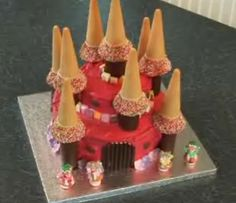 How to Make a Castle Cake -- via wikiHow.com