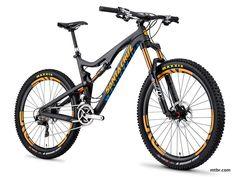 Santa Cruz Bronson Carbon Black
