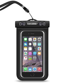 Universal Waterproof Case, TekSonic Cell Phone Case Dry B...…