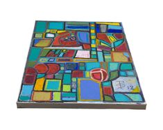 Original Abstract Painting by Ted Silvera