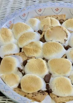 Triple Chocolate Oven Baked S'mores
