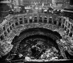The Queen's Hall bombed 1941