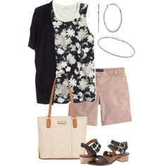 Untitled #569 by texasgal50 on Polyvore featuring J.Crew, Gérard Darel, Marc Fisher and Chaps