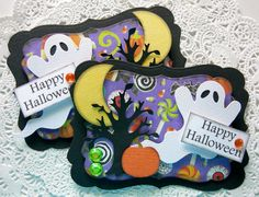 Halloween Embellishments www.sarasscrappin.etsy.com