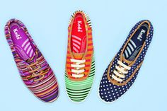 Keds for Madewell. I want them all!