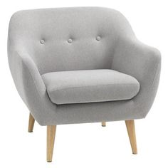 High street retro: Egedal midcentury-style sofa and armchair at JYSK