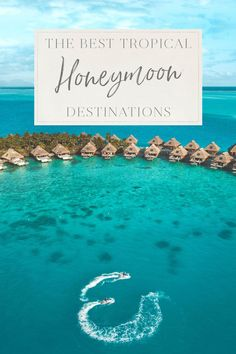 The best part of the wedding is planning your honeymoon! You can travel to some of the most romantic destinations in the world and start your life together in paradise. Here are some of the best tropical honeymoon destinations! Us Travel Destinations, Honeymoon Destinations All Inclusive, Honeymoon Tips, Honeymoon Planning, Romantic Destinations, Romantic Travel, Best Places To Honeymoon, Romantic Vacations, Belize Honeymoon