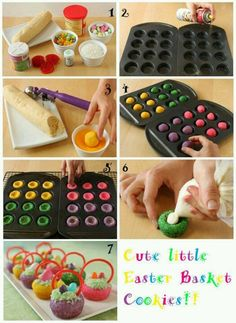 Perfect idea for easter dessert!