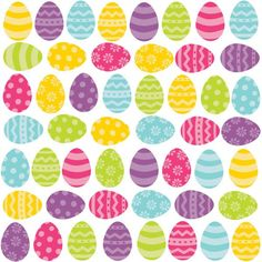 Glitter Easter Egg Cutouts 50ct   Wally's Party Factory #easter #egg #decor