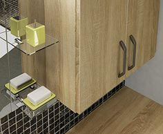Dune - Our new nickel bar handles are so chic and work perfectly with Dune's stylish bathroom cabinets.