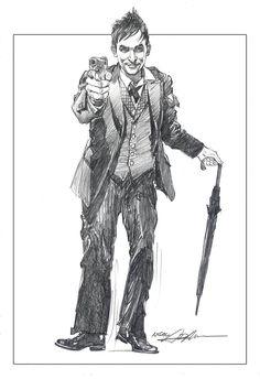 The Penguin by Neal Adams #Gotham #Batman