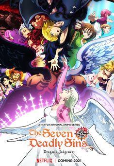 Seven Deadly Sins Anime, 7 Deadly Sins, Elizabeth Seven Deadly Sins, Cool Animes, Netflix Original Anime, Studio Deen, Seven Deady Sins, Manga News, Demon King