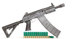 coalcreek Custom Saiga 12 gauge semi-auto shotgun