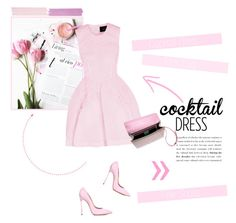 """No 323:Cocktail Dress (1)"" by lovepastel ❤ liked on Polyvore featuring Simone Rocha, Casadei, Sara Battaglia, Unitex International and cocktaildress"
