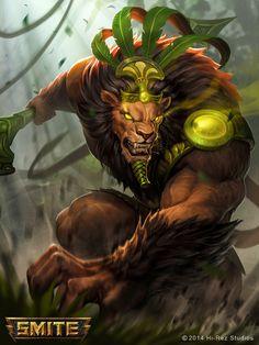 Jungle King Ahnur by Yideth.deviantart.com on @DeviantArt