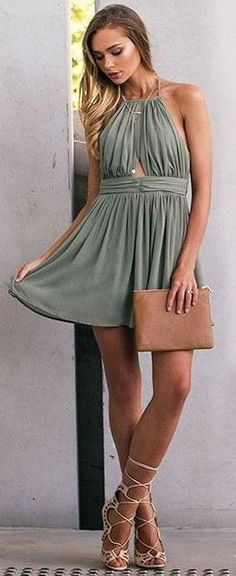 #Fashion  Summer Style : #beginningboutique #label #outfits | Olive Playsuit