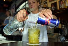 Energy drinks and alcohol a dangerous combo for college kids ...