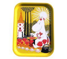 Buy your Moomin sunshine tray from Opto Design at Nordic Nest. Moomin Shop, Moomin Mugs, Les Moomins, Iron Sheet, Childrens Aprons, Tove Jansson, Acrylic Tumblers, Pvc Coat, Apron Designs