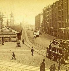 George's dock with Gore piazza 1891