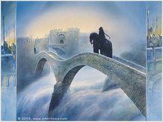 Horseman in the Night by John Howe
