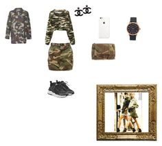 """ARMY BACK"" by shygirl-dliv ❤ liked on Polyvore featuring Yves Saint Laurent, NIKE, Razer, Marc Jacobs and Army of Me"