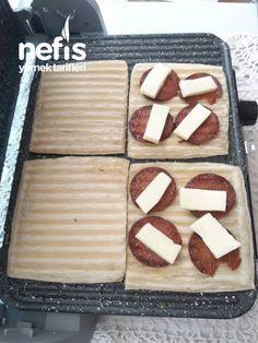 Milföy Tost ( Börek Tadında ) - Nefis Yemek Tarifleri