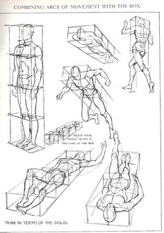 Figures in perspective from Figure Drawing For All It's Worth by Andrew Loomis
