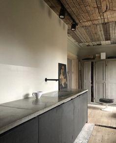Best Home Decoration Ideas Interior Exterior, Interior Design Kitchen, Interior Architecture, Interior Decorating, Handmade Kitchens, House Inside, Apartment Interior, Beautiful Kitchens, Kitchen Furniture