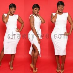 White dress shawtyfwe