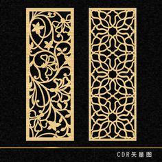 Hollow engraved flower shape 86
