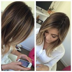 27 Exciting Hair Colour Ideas for 2015 Radical Root Colours  Cool New Spring Shades. Brunette Ombre Balayage