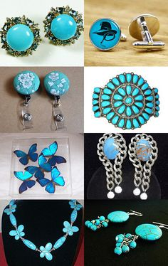 Gotta Love Turquoise Blue by Marie on Etsy--Pinned with TreasuryPin.com