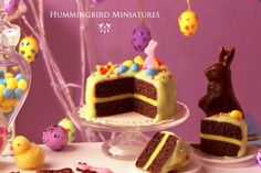 :: Crafty :: Clay :: Bakery :: Hummingbird Miniatures: A Feature last Easter!