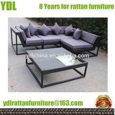Youdeli High Quality Rattan Garden Sofa - Buy Outdoor Garden Sofas,High Quality Loveseat Sofa,Synthetic Rattan Sofa Product on Alibaba.com