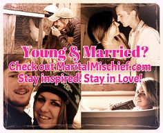 In & Out-   One of the couples and authors on MaritalMischief.com, a blog for young married couples. Read the stories that you can relate to and subscribe to the blog that knows you, the young married couple still trying to figure things out. Pick your favorite couple! Stay Inspired! Stay in Love!