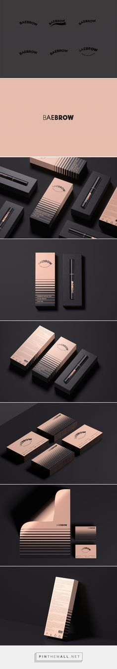 BAEBROW_Identity/Packaging on Behance - created via https://pinthemall.net