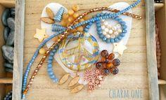 Perlenset & -mischung - DIY - Perlenmischung ✭ Peace blau - ein Designerstück von charm_one bei DaWanda