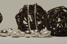Plata y perlas