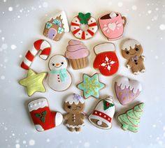 Dieser Weihnachtsschmuck in Stil von Cookies mit Wirkung Glasurmalerei gemacht. Um sie sieht aus wie echte Ich habe eine spezielle Textilfarbe.  Sie können diese Ornamente verwenden, um Ihren...