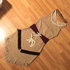 Im Blog könnt ihr nachlesen, wie ich mein Indianerin Kostüm genäht habe.