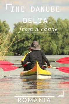 Although with motorized vehicles you can explore the Danube Delta faster, it's only from a canoe that you can truly appreaciate its beauty. Chile, Romania Travel, Romania Tours, Danube Delta, Europe On A Budget, Student Travel, Kayak Camping, Travel Tours, Travel Europe
